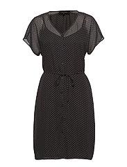 Diana SS Dress - BLACK