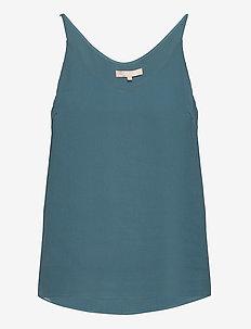 Frida Top - sleeveless blouses - hydro