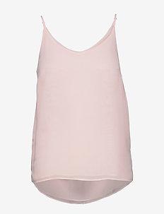 Frida Top - blouses zonder mouwen - mauve chalk