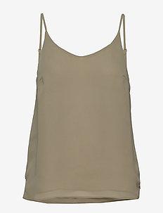 Frida Top - blouses zonder mouwen - tea