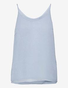 SRFrida Top - sleeveless tops - zen blue