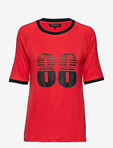 Asta t-shirt - POPPY RED