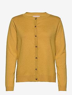 Zara New O-neck Cardigan - vesten - rattan