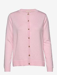 Zara New O-neck Cardigan - vesten - roseate spoonbill