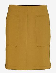 Amigo Short Skirt - midinederdele - nutria