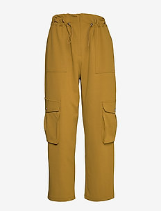 Amigo HW Ankle Pant - casual trousers - nutria