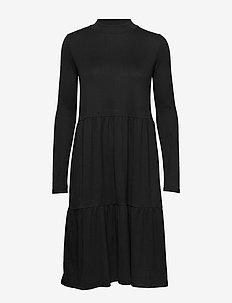 Rilla LS Dress - BLACK