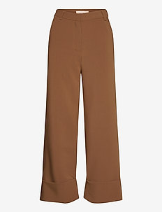 Gitta Straight Pant - casual broeken - partridge