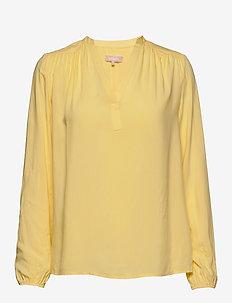 Freedom LS Top - long sleeved blouses - pineapple slice