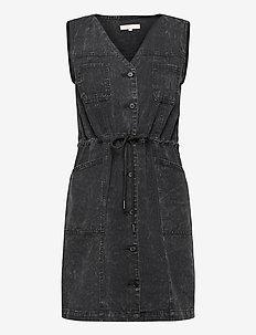 SREmma Dress - jeansjurken - black