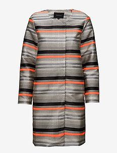 Cami Long Jacket - dunne jassen - 967 cami print