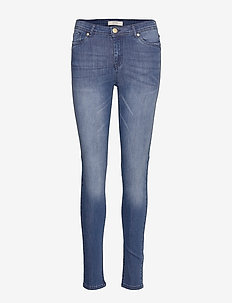 Cindy Straight Pant - straight jeans - dark wash