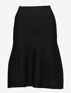Henrietta Skirt - jupes midi - black
