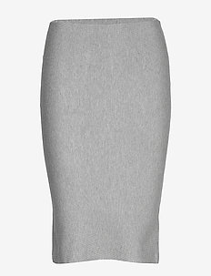 Henrietta Tube Skirt - LIGHT GREY
