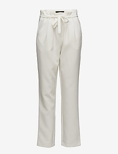 Tina Pant - wide leg trousers - 002 off white