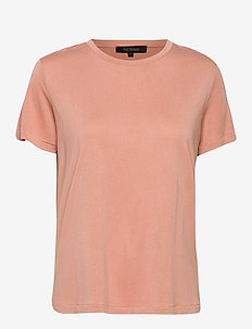 Ella T-shirt - CAMEO BROWN