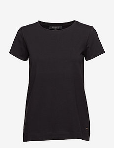 Elle T-shirt - basic t-shirts - black