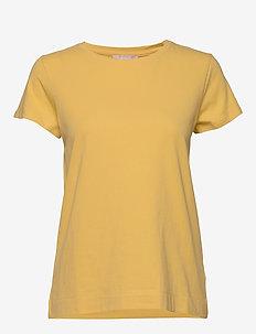 Elle T-shirt - t-shirty basic - ochre