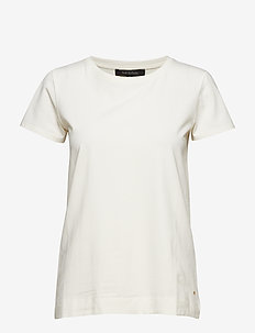 Elle T-shirt - basic t-shirts - snow white / off white