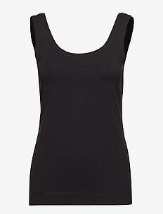 Elle Tanktop - topy bez rękawów - black