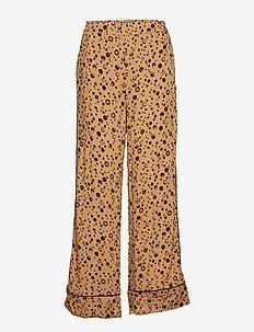 Thilde Pant - straight leg trousers - appaloosa print