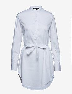 Trud Tunic Dress - WHITE