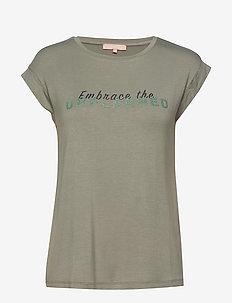 Embrace SS Top - printed t-shirts - tea