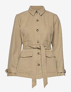Sanbina Jacket - kurtki użytkowe - warm sand