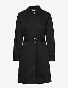 Sol Trench Coat - trenchcoats - black