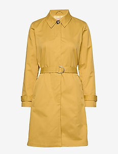 Sol Trench Coat - trenchcoats - ochre