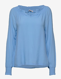 Move LS Top - blouses à manches longues - little boy blue