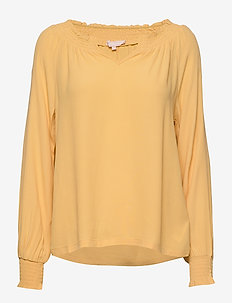 Move LS Top - blouses med lange mouwen - ochre