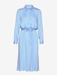 Blaze LS Midi Shirt Dress - robes chemises - little boy blue