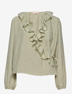 Ava LS Top - blouses à manches longues - tea