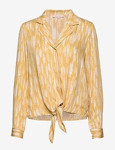 Blaze LS Tie Shirt Printed - blouses med lange mouwen - blaze print