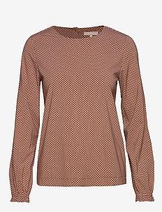 Hailey LS Top Printed - blouses à manches longues - hailey print