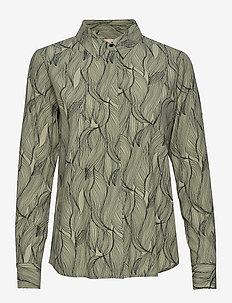 Move LS Shirt Printed - overhemden met lange mouwen - move print