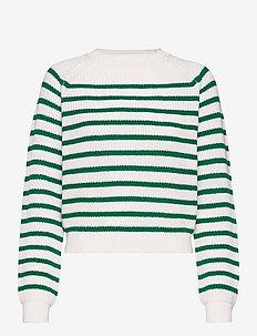 SRTammy LS O-neck Knit - sweaters - lush meadow