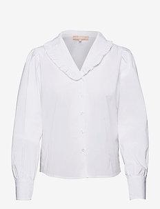 SRFika LS Shirt - long sleeved blouses - snow white / off white