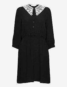 SRJudith Dress - summer dresses - black