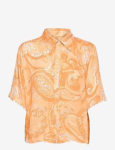 SRPennie 2/4 Shirt - short-sleeved shirts - paisley print