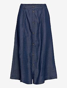 SRValeria Midi Skirt - midi nederdele - rinse wash