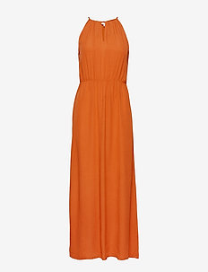 Rosa Ankle Dress - midi dresses - auburn