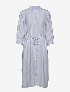 Allysia Shirt Dress - robes chemises - cashmere blue