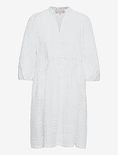 SRDana Dress - midi dresses - snow white / off white