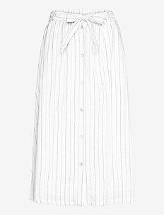 SRVickie HW Midi Skirt - midi skirts - snow white / off white