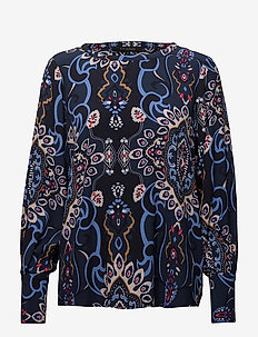 Lucia Blouse - NIGHT SKY
