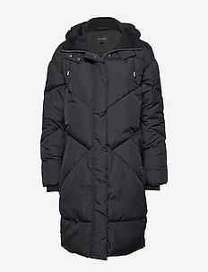 Para Padded coat - wyściełane płaszcze - black