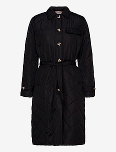 Stinna Quilt Coat - quilted jassen - black