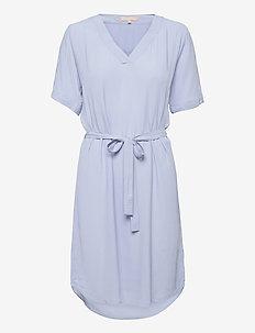 SRQuinn 2/4 Dress - midi dresses - zen blue